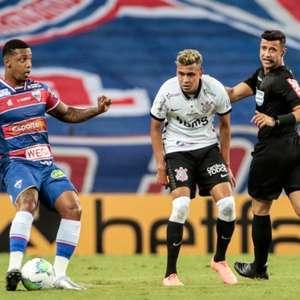 Em jogo de duas expulsões, Fortaleza e Corinthians empatam