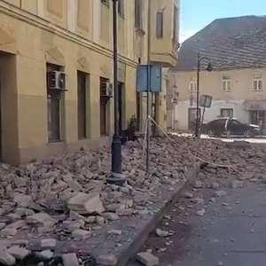 Novo terremoto atinge Croácia e é sentido na Itália