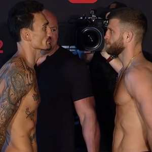 Holloway x Calvin Kattar na luta principal, dois ...