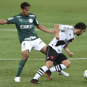 Em partida da 1ª rodada, Palmeiras e Vasco ficam no 1 a 1