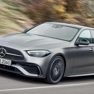 Novo Mercedes Classe C chega em 2022 com versão híbrida