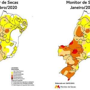 SP teve maior percentual de seca extrema do Brasil em ...