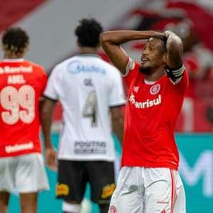 Internacional empata com o Corinthians e fica com o vice