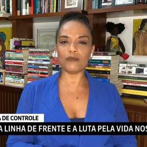 Comentarista se comove por diretor de jornal vítima da covid