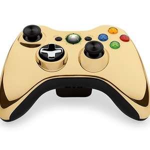 Controle dourado para Xbox 360 chega por US$ 54,99 nos EUA