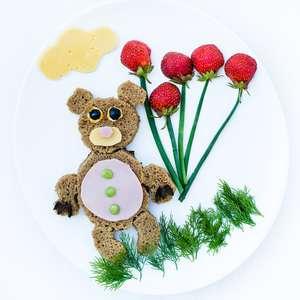 Pratos divertidos estimulam criança a experimentar alimentos