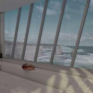 Medo de altura? Empresa cria projeto de casa em penhasco