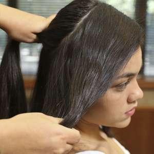 Aprenda a fazer tiara com o próprio cabelo em casa