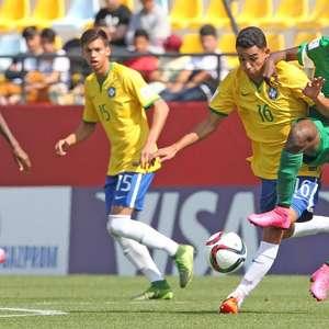 Brasil leva 3 gols em 4 minutos e dá adeus ao Mundial Sub-17