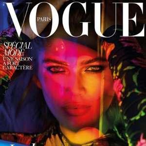 """Transexual brasileira faz história na capa da """"Vogue Paris"""""""