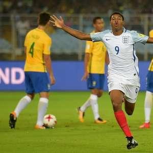 Brasil cai diante da Inglaterra na semi do Mundial Sub-17
