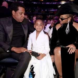 Filha de Beyoncé e Jay-Z rouba a cena no Grammy 2018
