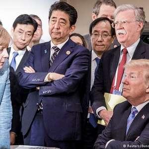 Trump teria chamado Angela Merkel de 'estúpida'
