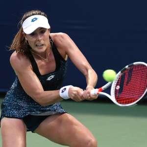 Juiz do US Open pune francesa por tirar a blusa em quadra