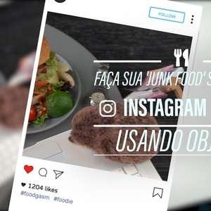 Faça sua 'junk food' se destacar no Instagram: objetos