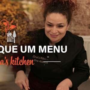 Mais do que um menu: Zina's Kitchen