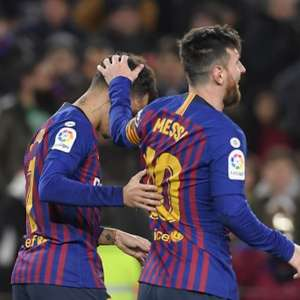 Coutinho brilha, Barcelona faz 6 no Sevilla e vai à semi