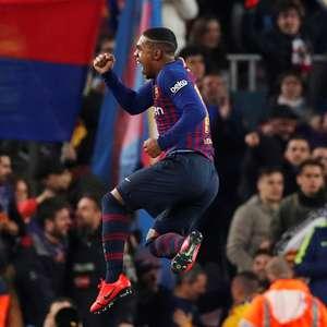 Malcom garante empate ao Barcelona contra o Real Madrid