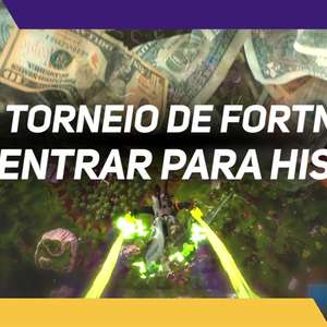 Copa do Mundo Fortnite com prêmios incríveis!