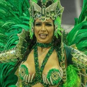Confira detalhes da fantasia de Aline Oliveira, da Mocidade
