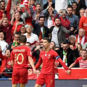 CR7 faz três e Portugal é finalista da Liga das Nações