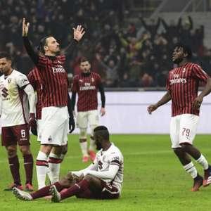 Ibra marca, Milan vence Torino na prorrogação e vai à semi