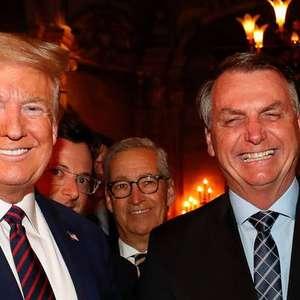 """Bolsonaro e Trump """"ganham"""" prêmio por gestão da pandemia"""