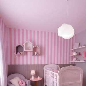 Quarto de Bebê Rosa: +60 Modelos e Dicas para se Inspirar