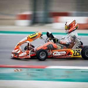 Vice-campeão mundial, Rafael Câmara comemora retorno do kartismo na Europa e treina no Brasil