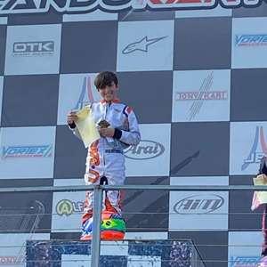 Líder da Orlando Cup, Enzo Vidmontiene busca novas vitórias no kartismo americano