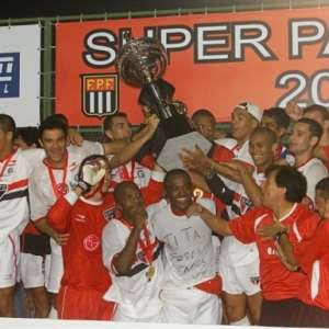 Supercampeão de 2002: há 18 anos, São Paulo levantava taça com Oswaldo de Oliveira