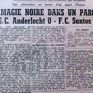 """Você sabia? Jornal sugeriu """"magia negra"""" para goleada do Santos"""