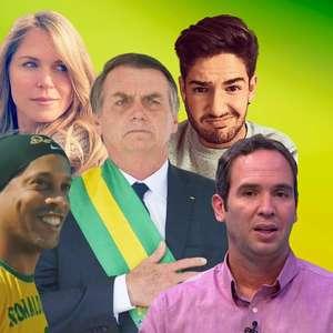 Famosos que defendem Bolsonaro de tudo e todos - Parte 5
