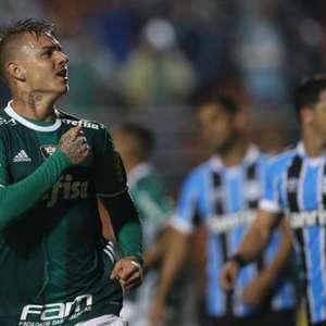 Há 4 anos no 'Porcoembu': reveja gols de histórico Palmeiras 4 x 3 Grêmio