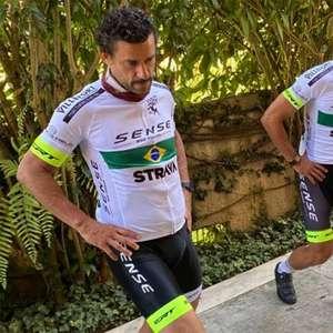 Fred inicia 2º dia de tour de bicicleta até CT do Fluminense e atinge meta de doações