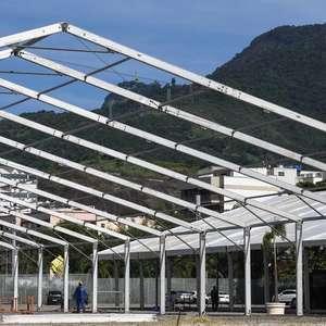 Governo do Rio intervém em hospitais de campanha montados contra Covid-19