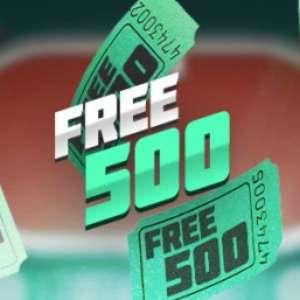 Bodog: torneio semanal Free500 com entrada gratuita e prêmios em grana
