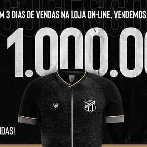 Ceará comemora venda de R$ 1 milhão em três dias com nova loja online