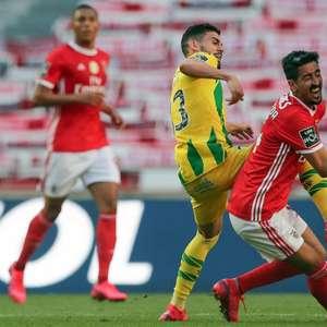 Benfica tropeça em casa, empata com o Tondela, e desperdiça chance de assumir liderança do Português