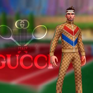 Gucci fecha parceria com o jogo para celulares Tennis Clash