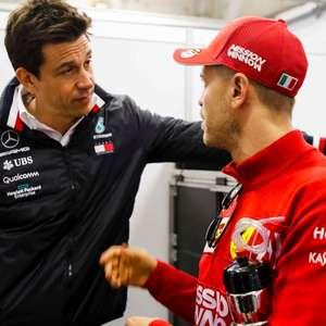 Toto Wolff não descarta chegada de Vettel na Mercedes