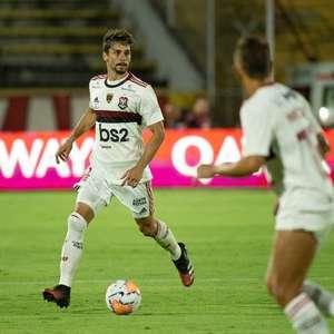 Rodrigo Caio fala sobre cobrança de Jorge Jesus no Flamengo