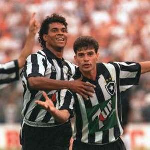 Túlio lembra dois jogos inesquecíveis do Botafogo no Brasileiro de 1995