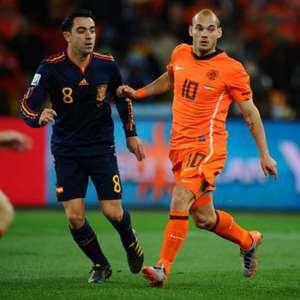 Sneijder afirma que poderia ter sido como Messi ou Cristiano Ronaldo