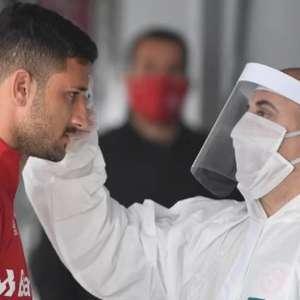 Elenco do Inter passa por novo teste do coronavírus