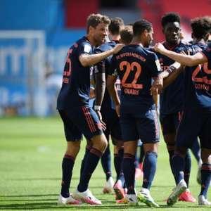 Bayern vence Leverkusen fora de casa e se aproxima do título Alemão