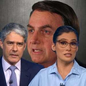 Chamada de TV Funerária, Globo engrossa tom contra Bolsonaro