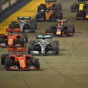 O desafio técnico da F1: 2020 refletirá em 2022