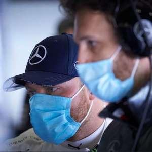 """Bottas testou em Silverstone: """"Foi ótimo voltar ao carro"""""""