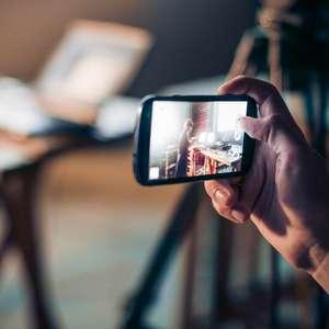 Como gravar vídeos pelo celular?